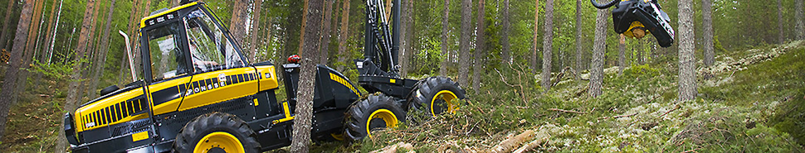 Used equipment Forestry